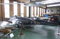 HB-RVA @ LSZR - DeHavilland (EFW) D.H.112 Venom FB50 ex-Flugwaffe at the Fliegermuseum Altenrhein