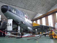 HB-RVQ @ LSZR - Hawker Hunter F58 ex-Flugwaffe at the Fliegermuseum Altenrhein