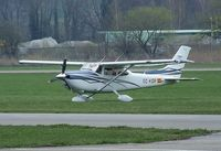 EC-KOP @ LSZR - Cessna 182 Skylane at St. Gallen-Altenrhein airfield