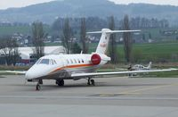 PH-MYX @ LSZR - Cessna 650 Citation 7 at St. Gallen-Altenrhein airfield