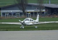 D-ENAH @ LSZR - Cirrus SR22 at St. Gallen-Altenrhein airfield