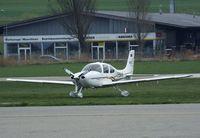 D-ENAH @ LSZR - Cirrus SR22 at St. Gallen-Altenrhein airfield