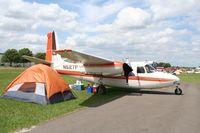 N527P @ LAL - Aero Commander 520