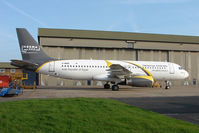 G-MIDR @ EGNX - Egyptian start-up airline , Nesma Airlines are due to take this ex BMI Airbus
