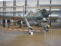 B-3107 @ MUSEUM - Brewster Buffalo , replica , Dutch AF Museum- Soesterberg - by Henk Geerlings