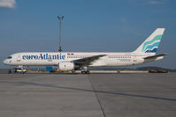 CS-TFK @ VIE - Euro Atlantic Boeing 757-200 - by Dietmar Schreiber - VAP