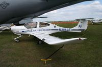 N306AF @ LAL - USAF Academy DA 40