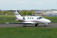 N301DN @ EGBJ - Cessna Mustang at Gloucestershire Airport