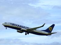 EI-DPI @ EGPH - Edinburgh based Ryanair B737-800 departs runway 24 - by Mike stanners