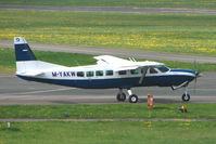 M-YAKW @ EGBJ - at Gloucestershire Airport - by Terry Fletcher