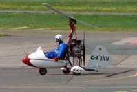 G-AXVM @ EGBJ - 1970 Campbell Aircraft Ltd CAMPBELL CRICKET  at Gloucestershire Airport