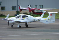 OE-FNS @ EGBJ - Diamond at Gloucestershire Airport