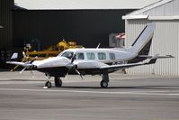 G-GURN @ EGBJ - Guernsey based Pa-31 at Gloucestershire Airport