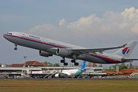 9M-MKJ @ WADD - Malaysian Airlines - by Lutomo Edy Permono