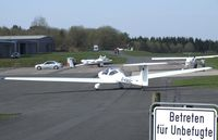 D-KWSC @ EDKV - Hoffmann H36 Dimona Mk II at Dahlemer Binz airfield - by Ingo Warnecke