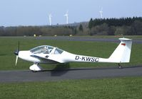 D-KWSC @ EDKV - Hoffmann H-36 Dimona Mk II at Dahlemer Binz airfield - by Ingo Warnecke