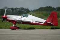 G-ROMP - on Day 1 of the 3 day British Aerobatics Association competition at Elvington airfield