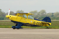 G-ODDS - 1980 Aerotek Inc PITTS S-2A on Day 1 of the 3 day British Aerobatics Association competition at Elvington airfield
