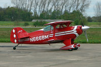 N666BM - 1991 Aviat Inc PITTS S-1T on Day 1 of the 3 day British Aerobatics Association competition at Elvington airfield