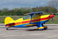 G-ICAS - Aviat Inc PITTS S-2B on Day 1 of the 3 day British Aerobatics Association competition at Elvington airfield