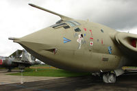 XL231 - Nose Art on Handley Page Victor K.2 displayed at the Yorkshire Air Museum at Elvington