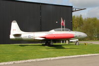 21417 - Canadair CT-133AN displayed at the Yorkshire Air Museum at Elvington