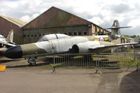 WS788 - 1954 Gloster Meteor NF(T).14 displayed at the Yorkshire Air Museum at Elvington