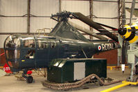 WH991 - Westland Dragonfly HR3 displayed at the Yorkshire Air Museum at Elvington