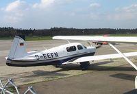 D-EEFN @ EDNY - Mooney M.20J Model 201 at Friedrichshafen airport - by Ingo Warnecke
