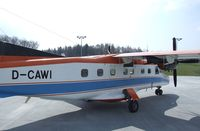 D-CAWI @ EDNY - Dornier Do 228-101 (formerly 'POLAR 2' operated by the German polar research institute (Alfred Wegener Institut)) standing outside the Dornier-Museum to be sold in May 2010. Before it had been exhibited at the Dornier Museum for some months.