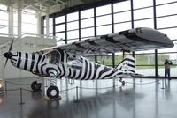 D-ENTE - Dornier Do 27A4 (painted for reenactment the famous flights of zoologist and filmmaker Michael Grzimek, who died in the first 'D-ENTE' in the Serengeti (Tanzania) in 1959) at the Dornier-Museum Friedrichshafen