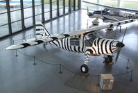 D-ENTE - Dornier Do 27A4 (painted for reenactment the famous flights of zoologist and filmmaker Michael Grzimek, who died in the first 'D-ENTE' in the Serengeti (Tanzania) in 1959) at the Dornier-Museum Friedrichshafen - by Ingo Warnecke
