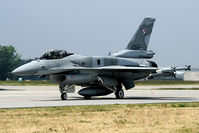 4056 @ EPKS - One of the local F-16s that were flying during the 2008 commanders meet at Krzesiny. - by Joop de Groot