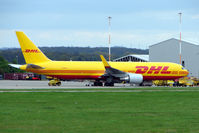 G-DHLE @ EGNX - DHL B767F at East Midlands