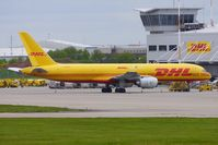 G-BMRH @ EGNX - DHL B757 on the East Midlands Freight ramp