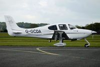 G-GCDA @ EGBO - 2008 Cirrus Design Corp SR20 at Wolverhampton on 2010 Wings and Wheels Day