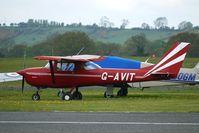 G-AVIT @ EGBO - 1967 Reims Aviation Sa CESSNA F150G at Wolverhampton on 2010 Wings and Wheels Day