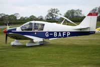 G-BAFP @ EGBO - 1972 Avions Pierre Robin CEA DR400/160 at Wolverhampton on 2010 Wings and Wheels Day