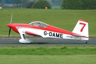 G-DAME @ EGBO - Vans RV-7 at Wolverhampton on 2010 Wings and Wheels Day