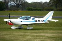 G-CESZ @ EGBO - Sportscruiser at Wolverhampton on 2010 Wings and Wheels Day