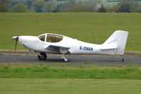 G-CHAH @ EGBO - EUROPA XS at Wolverhampton on 2010 Wings and Wheels Day