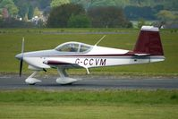 G-CCVM @ EGBO - Vans RV-7A  at Wolverhampton on 2010 Wings and Wheels Day