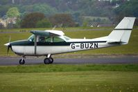 G-BUZN @ EGBO - 1967 Cessna CESSNA 172H at Wolverhampton on 2010 Wings and Wheels Day