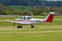 G-BNSL @ EGBO - Tomahawk at Wolverhampton on 2010 Wings and Wheels Day