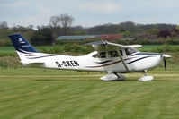 G-SKEN @ EGBO - Cessna at Wolverhampton on 2010 Wings and Wheels Day