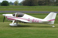 G-BXII @ EGBO - EUROPA  at Wolverhampton on 2010 Wings and Wheels Day