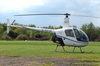G-EFOF @ EGBD - 2004 Robinson Helicopter Co Inc ROBINSON R22 BETA at Derby Eggington