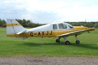 G-AXJJ @ EGBD - Resident 1969 Beagle Aircraft Ltd BEAGLE B121 SERIES 2 at Derby Eggington
