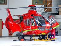 G-DAAT @ EGHU - Devon Air Ambulance - by Chris Hall
