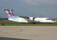 G-WOWC @ EGHD - Air Southwest - by vickersfour